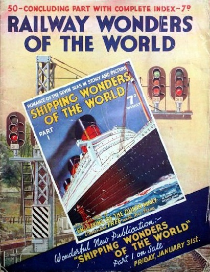 cover part 50 Railway Wonders of the World