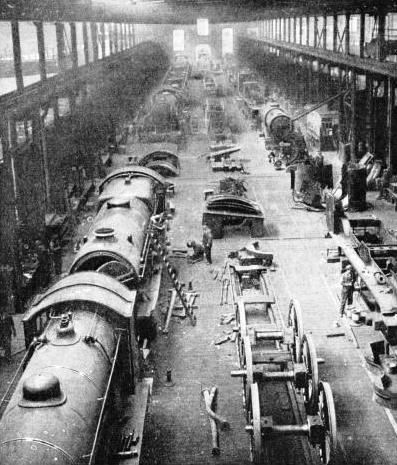 Eastleigh Locomotive Works