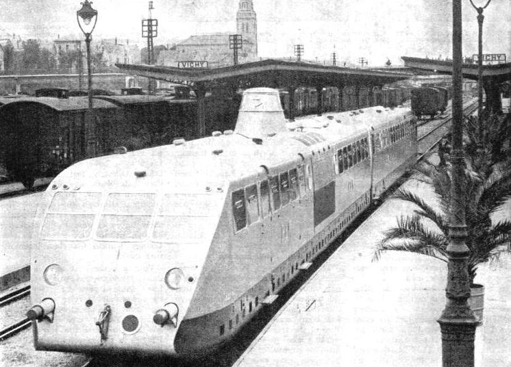 PLM RAIL-CAR AT VICHY, in central France