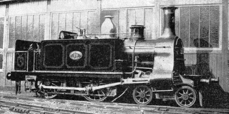 A 4-4-0 Tank Engine designed by William Adams for the North London Railway and built in 1868