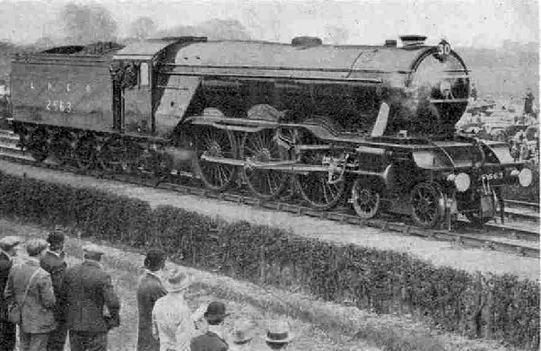 LNER No. 2563 William Whitelaw (4-6-2) at the Railway Centenary celebrations
