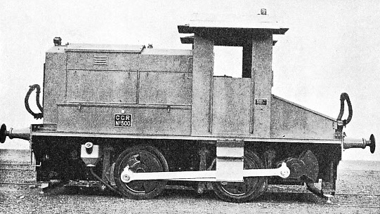 THE CEYLON GOVERNMENT RAILWAYS employ this 20-tons Diesel shunting locomotive