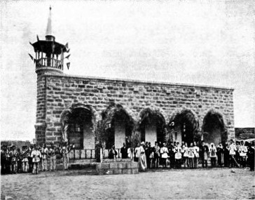 TEBUK MOSQUE, THE ONLY ONE BUILT FOR THE HEDJAZ LINE