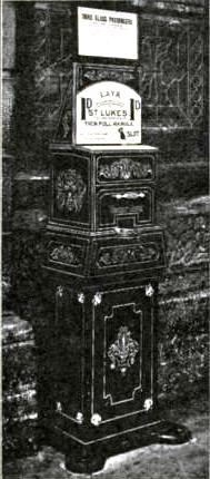 Automatic Ticket-Issuing Machine, Lancashire & Yorkshire Railway