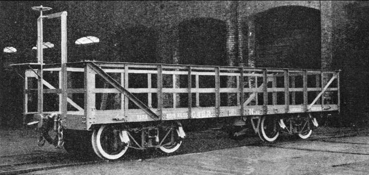 SUGAR-CANE forms a large part of the freight traffic carried by the Great Western of Brazil Railway