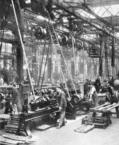 Mass production at Eastleigh Works