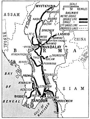 The railways of Burma