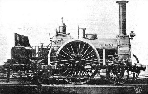 "A famous GWR engine, the ""Vulcan"""