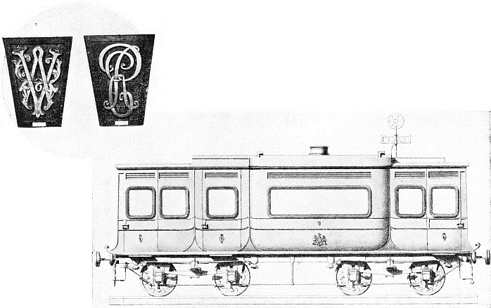 GWR royal saloon used by Queen Victoria