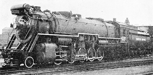 TEN-COUPLED FREIGHT ENGINE, CANADIAN NATIONAL RAILWAYS