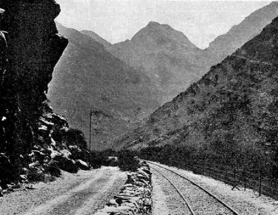 Entering the Hex River Pass