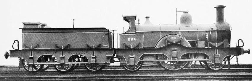"LATER TYPE OF THE ""SINGLE DRIVERS"" - BUILT JUNE, 1865"