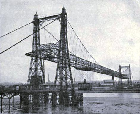 Transporter Bridge across the Manchester Ship Canal