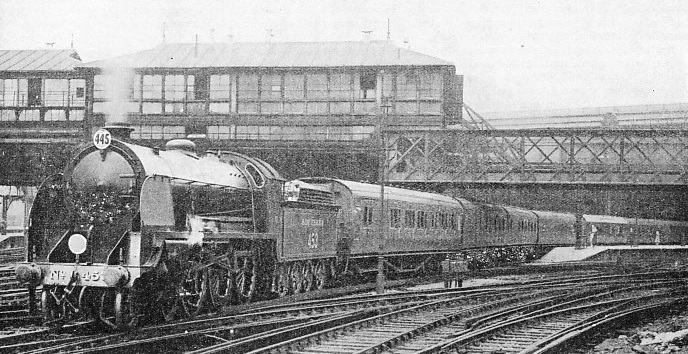 "The ""Atlantic Coast Express"" Leaving Waterloo"
