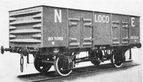 A welded mineral wagon
