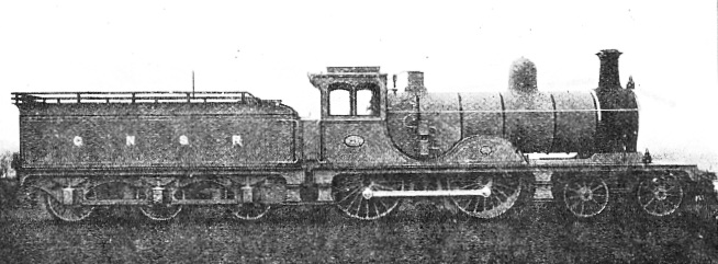 EXPRESS PASSENGER ENGINE NO. 113, Great North of Scotland Railway