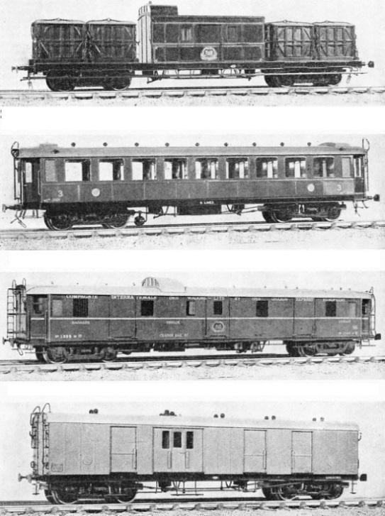 Model railway coaches