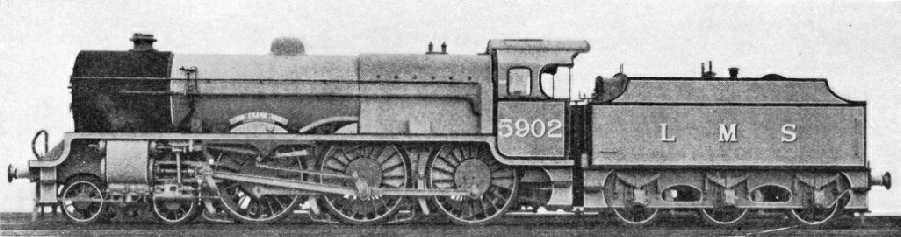 """Sir Frank Ree"", one of the ""Baby Scot"" class of the LMS"