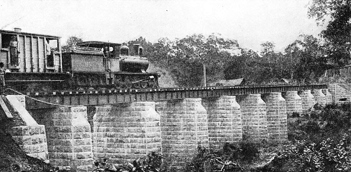 Kala Oya Bridge, a substantial structure on the line to Trincomalee and Batticaloa