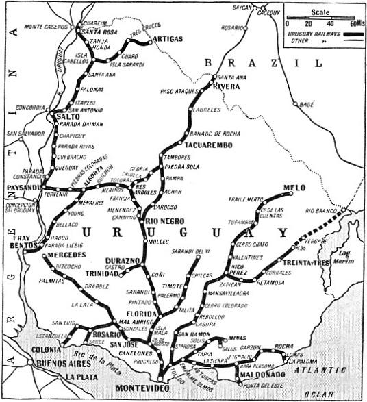 Trains of Uruguay