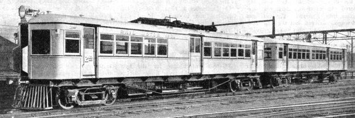 MODERN TRANSPORT METHODS are a feature of the Australian railways