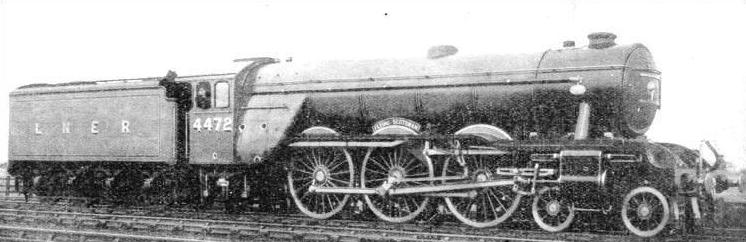 "The ""Flying Scotsman"" Paciic-type locomotive"