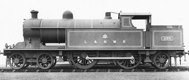 London & North Western Railway tank engine for passenger traffic