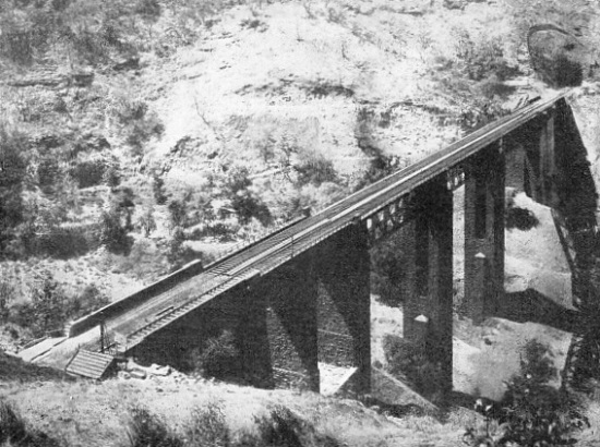 THE FAMOUS EHEGAON VIADUCT ON THE GREAT INDIAN PENINSULA RAILWAY