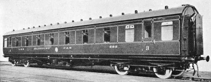 A modern sleeping car