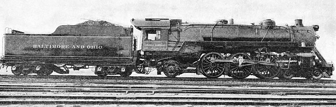 """PRESIDENT WASHINGTON"", a Pacific type locomotive"