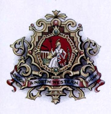 LONDON & NORTH WESTERN RAILWAY COAT OF ARMS