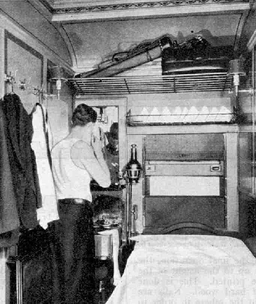 The latest type of Canadian National Railways Compartment Sleeping Car