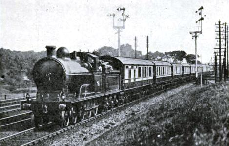 The Scotch Express, London & North Western Railway