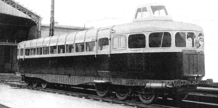 THE MICHELINE motor-coach, many of which are in service on the French State railways