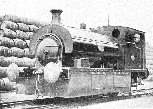 BROAD GAUGE LOCOMOTIVE No.3, built by Hudswell, Clarke & Co