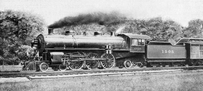 "A CHARACTERISTIC ""PACIFIC"" (4-6-2) TYPE OF LOCOMOTIVE"