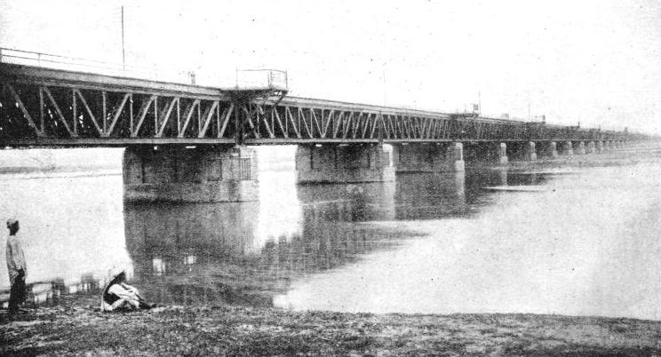 A NOTABLE INDIAN BRIDGE is the road and rail bridge at Jhelum across the river of that name