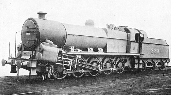 "A BRITISH EXPRESSION OF THE ""DECAPOD"" ON THE LONDON, MIDLAND, AND SCOTTISH RAILWAY"