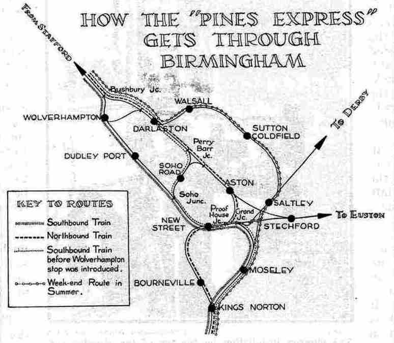 How the Pines Express gets through Birmingham