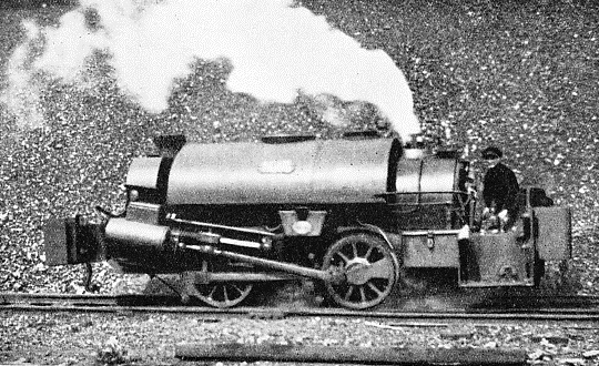 "THE ""JUMBOS"" is the name given to saddle-tank locomotives of this type at the Gas Light and Coke Company's works at Beckton"