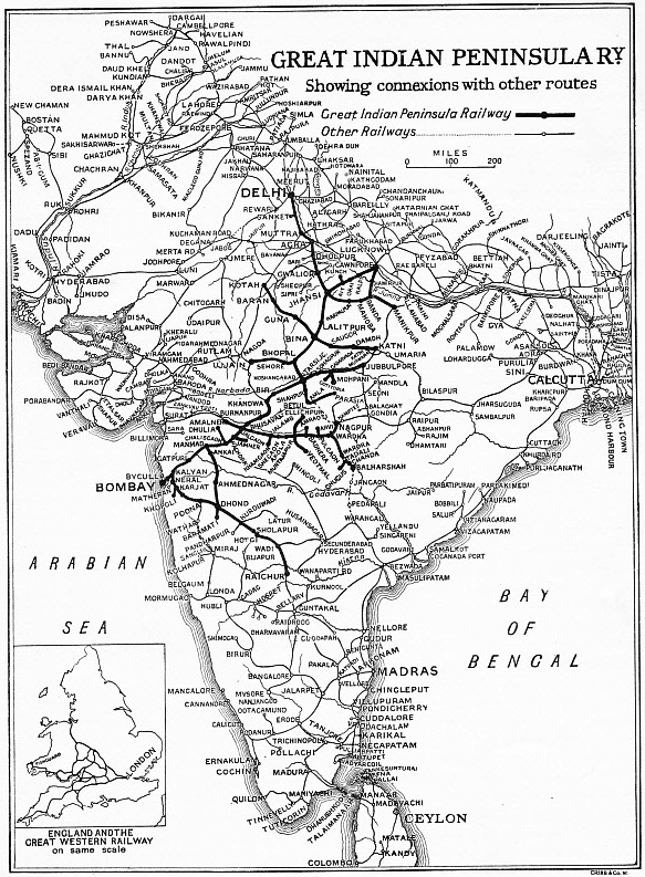 THE GREAT INDIAN PENINSULA RAILWAY AND ITS CONNEXIONS
