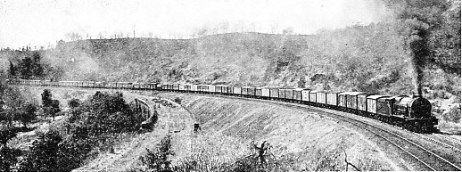 1250-TON INDIAN GOODS TRAIN CLIMBING THE GHAUTS, G.I.P. RAILWAY