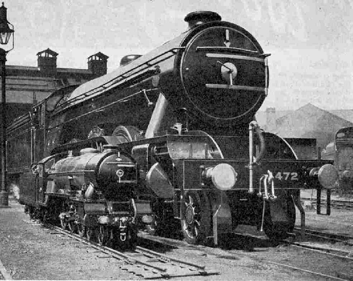 3-cylinder Pacifics, Typhoon No. 7 and Flying Scotsman