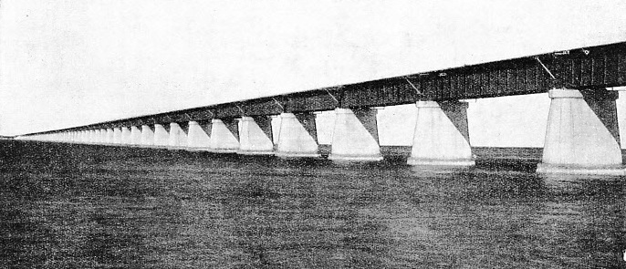 Little Duck Viaduct and is the longest in the over-sea extension of the Florida East Coast Railway