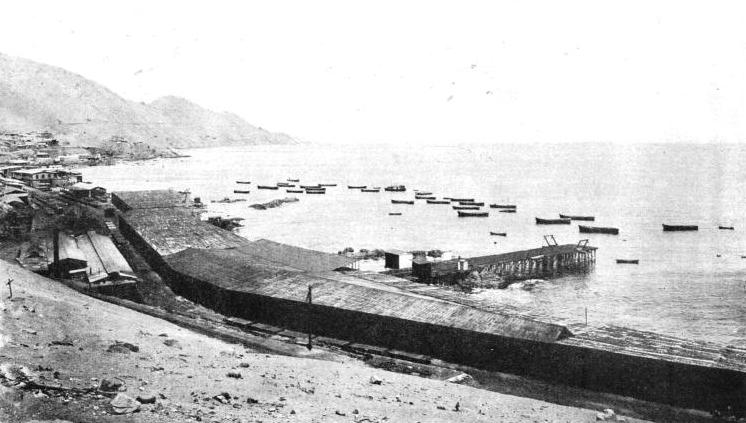NITRATE WAREHOUSES at Pisagua