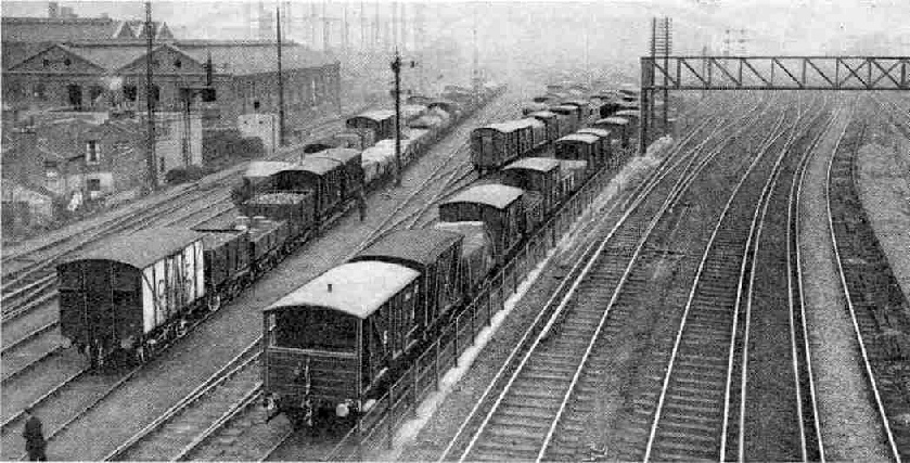 A view of part of Nine Elms Yard