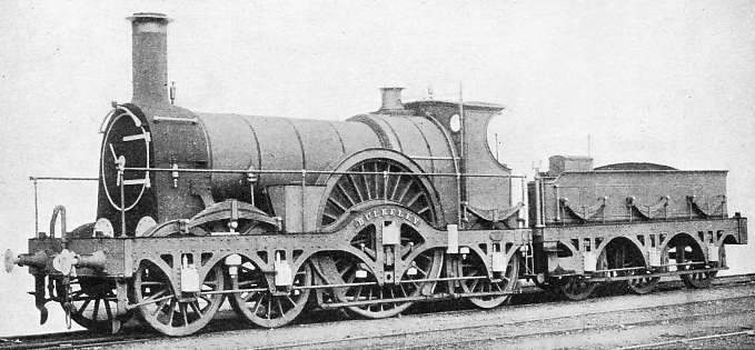"""Bulkeley"", a broad gauge engine of the ""Iron Duke"" class"