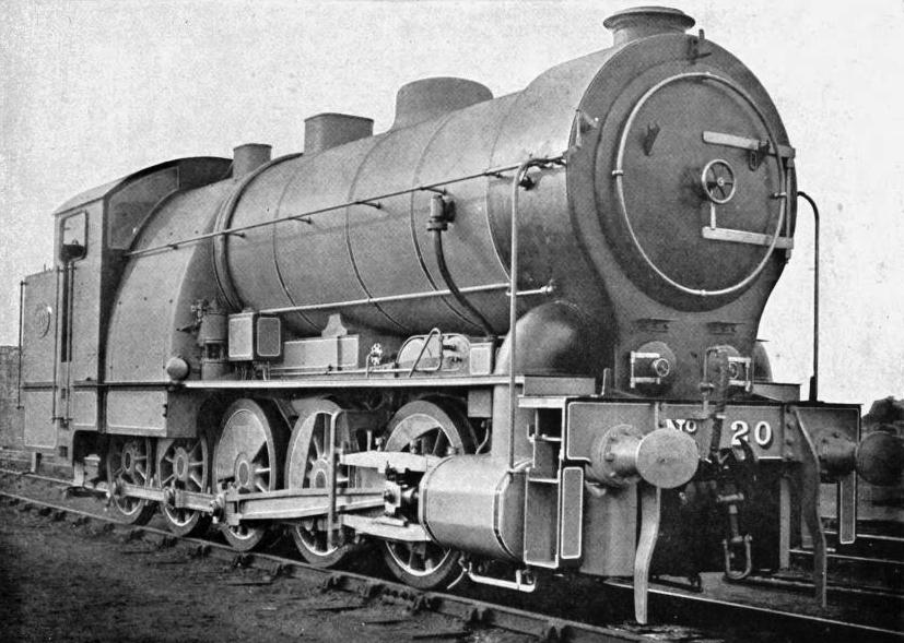 Mr. James Holden's Decapod, Great Eastern Railway