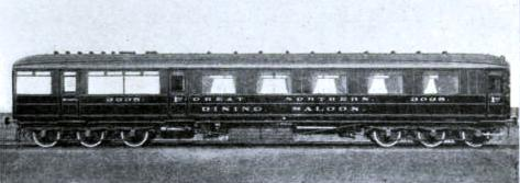 First-class Dining Car