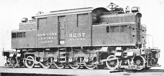 AN EARLY 4-8-4 ELECTRIC LOCOMOTIVE FOR THE NEW YORK CENTRAL RAILWAY